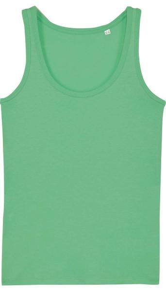 Tank-Top aus Bio-Baumwolle - chameleon green