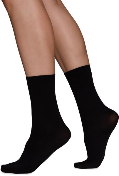 Ingrid Premium Socks - Socken aus Nilit - black