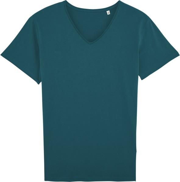 T-Shirt mit V-Ausschnitt aus Bio-Baumwolle - stargazer