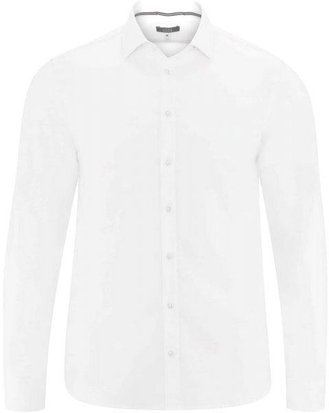 Hemd aus Bio-Baumwolle - white