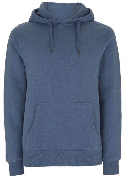 Kapuzenpullover Baumwolle blau N59P