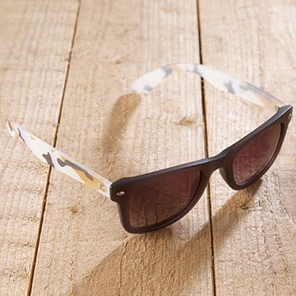Torino - Sonnenbrille aus recyl. Kunststoff - camouflage - Bild 1