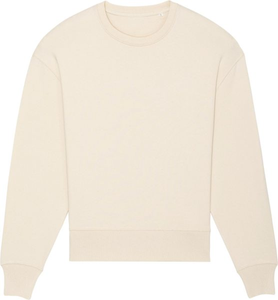 Oversized Unisex Sweatshirt aus Bio-Baumwolle - natural raw