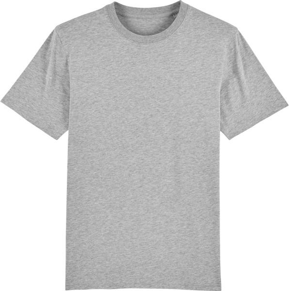 T-Shirt aus schwerem Stoff aus Bio-Baumwolle - heather grey