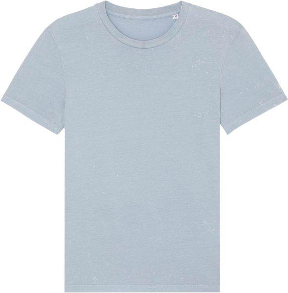 Vintage T-Shirt aus Bio-Baumwolle - g. dyed aged serene blue