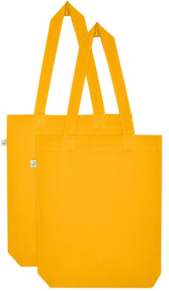 Doppelpack - Organic Cotton Bag - gold