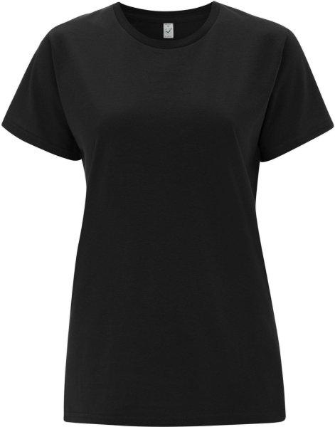 Organic T-Shirt CO2-neutral - ash black