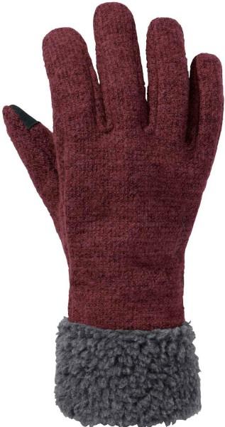 Damen Handschuhe Tinshan Gloves IV - claret red