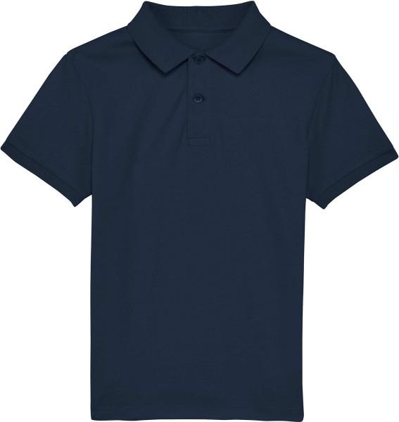 Kinder Polo-Shirt aus Bio-Baumwolle - french navy
