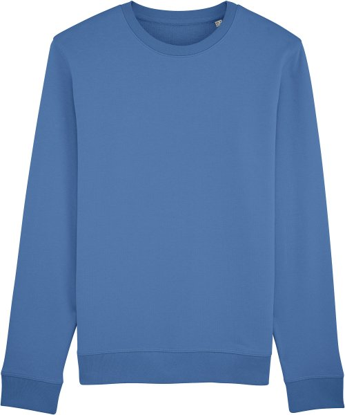 Unisex Sweatshirt aus Bio-Baumwolle - bright blue