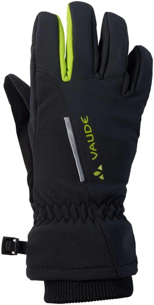 Kinder Handschuhe Softshell Gloves - black