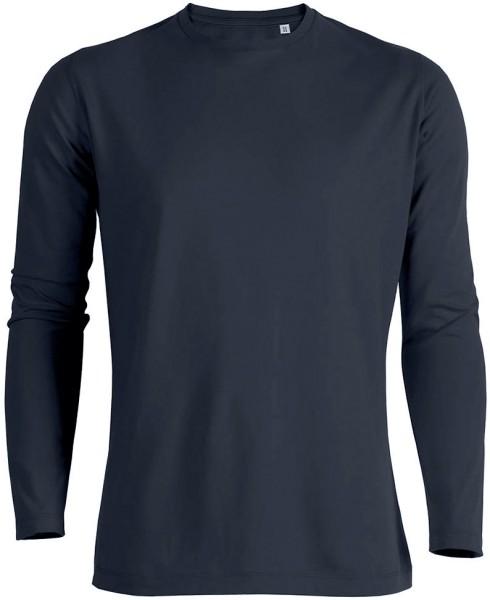 Shuffles - Langarmshirt aus Bio-Baumwolle - navy
