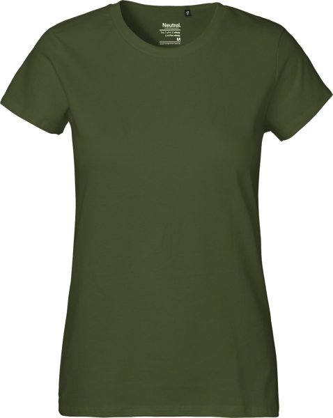 Classic T-Shirt aus Fairtrade Bio-Baumwolle - military