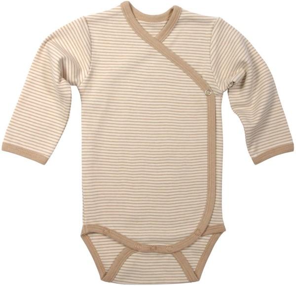 Wickel-Body Baby gestreift Biobaumwolle GOTS Living Crafts