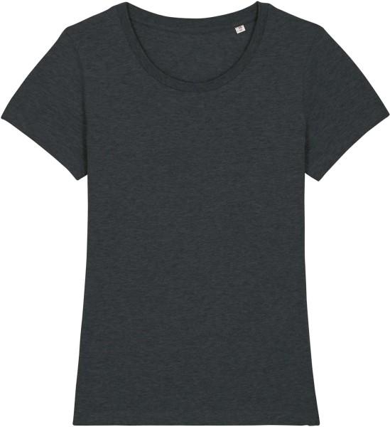 T-Shirt aus Bio-Baumwolle - dark heather grey