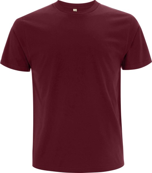 Organic T-Shirt CO2-Neutral - burgundy