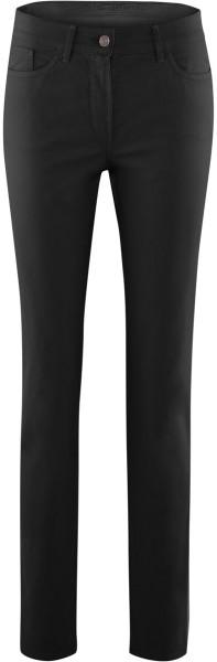 5-Pocket-Hose aus Bio-Baumwolle - schwarz