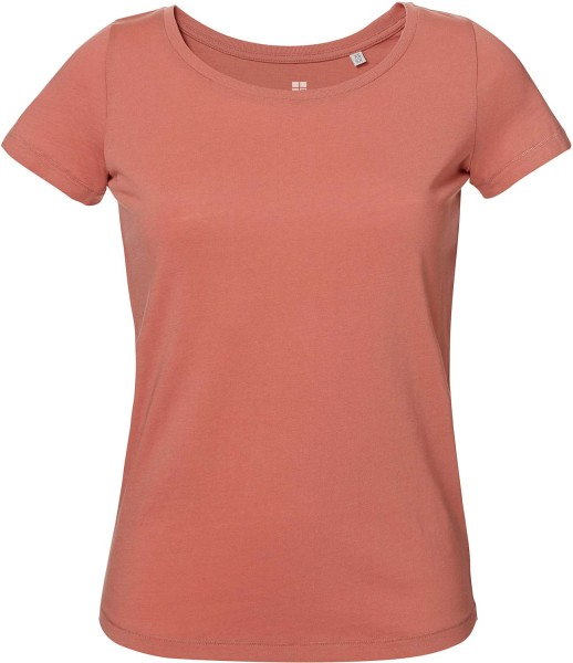 Loves - Jerseyshirt aus Bio-Baumwolle - salty rose