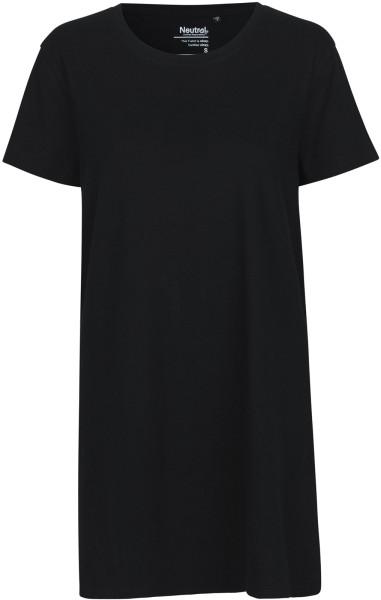Jersey-Kleid aus Fairtrade Bio-Baumwolle - black