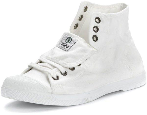 Bota Sport - Hohe Sneakers aus Bio-Baumwolle - blanco - Bild 1