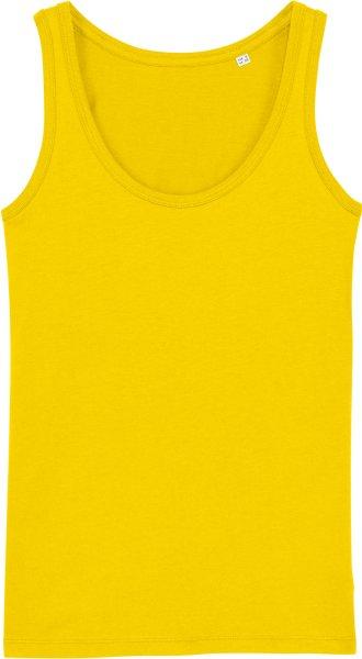 Tank-Top aus Bio-Baumwolle - golden yellow