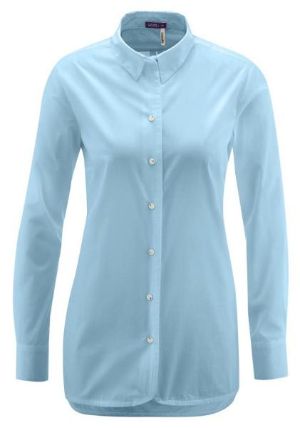 Living Crafts - Bluse aus Biobaumwolle - hellblau
