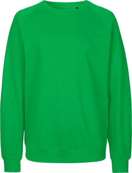 Sweatshirt aus Fairtrade Bio-Baumwolle - green