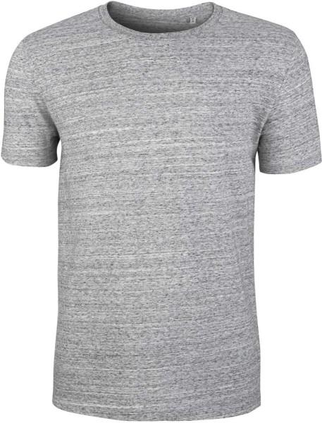 Leads - Bio-Baumwolle - slub heather grey