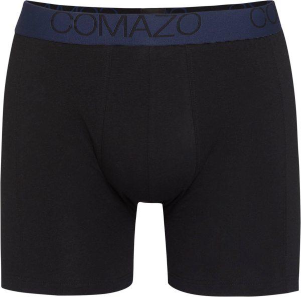 Trunk-Shorts aus Fairtrade Biobaumwolle - black