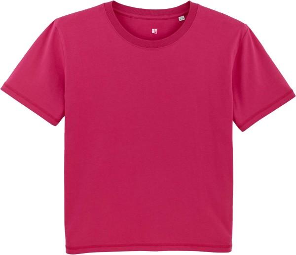 Kastenförmiges T-Shirt aus Bio-Baumwolle - crystal stone