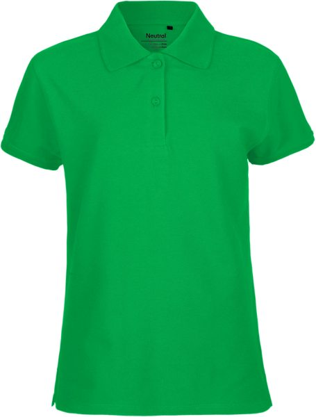 Polo Shirt Damen grün fair Biobaumwolle