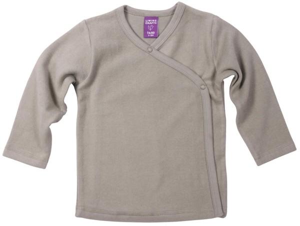 Baby Wickel-Jacke aus Bio-Baumwolle - taupe - Bild 1