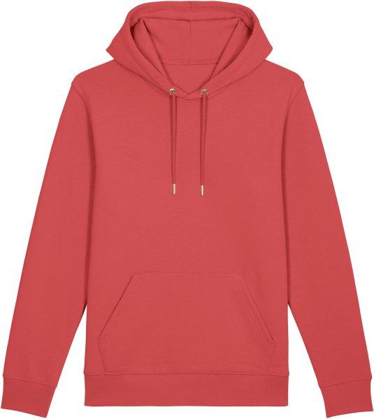 Unisex Hoodie aus Bio-Baumwolle - carmine red