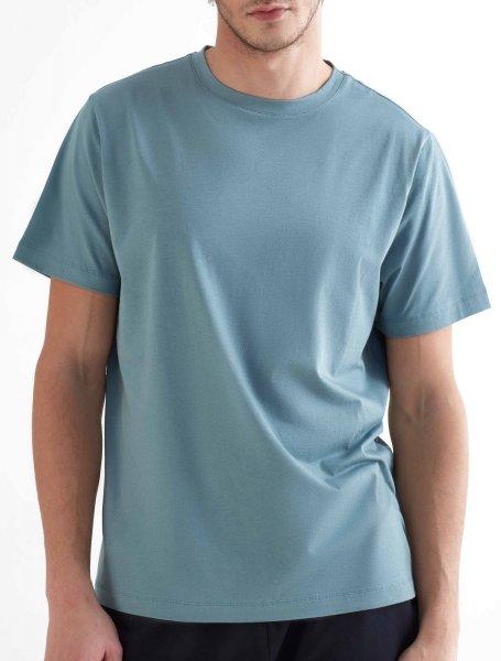 Active T-Shirt aus Bio-Baumwolle & Modal - light grey