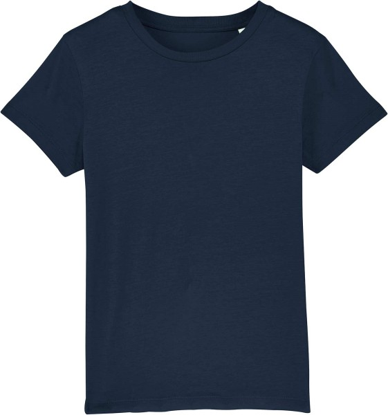 Kinder T-Shirt aus Bio-Baumwolle - french navy