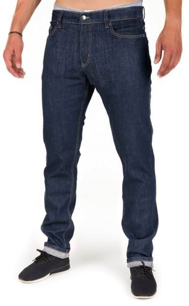 Organic Cotton Jeans - Slim Fit - dark denim