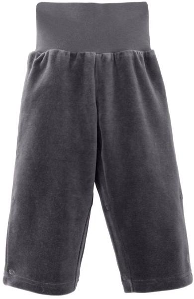 Baby Hose aus Bio-Baumwolle - dunkelgrau - Bild 1