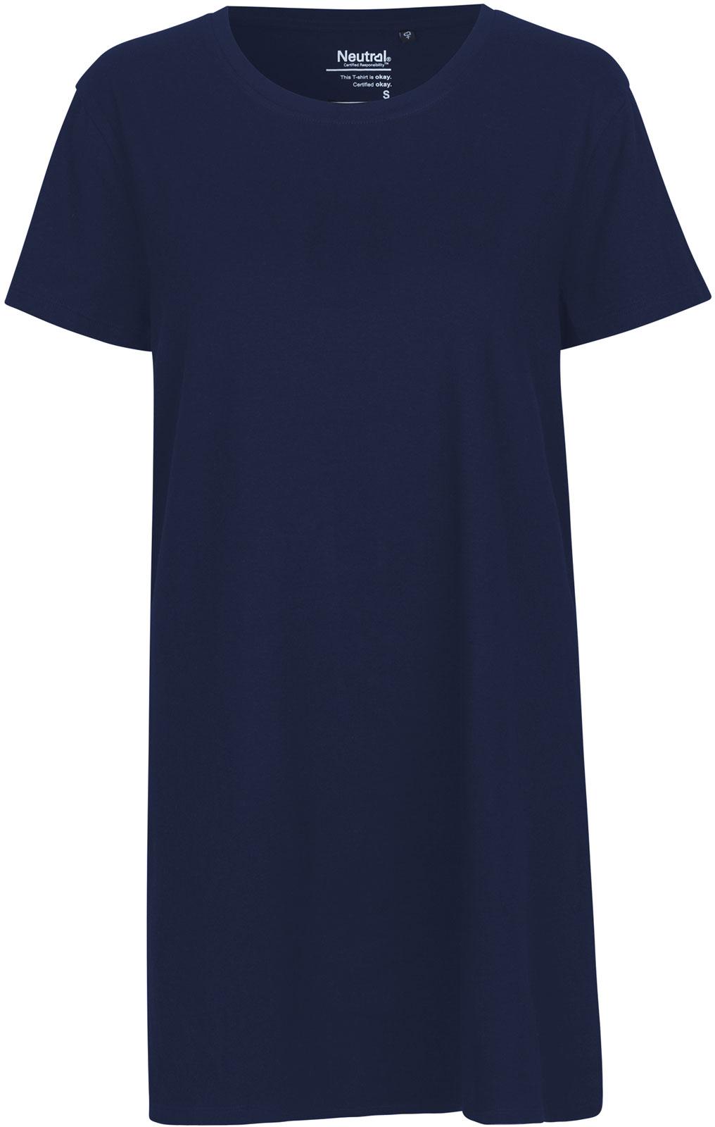 Weltweit Versandkostenfrei Heiß-Verkauf am neuesten Keine Verkaufssteuer Jersey-Kleid aus Fairtrade Bio-Baumwolle - navy