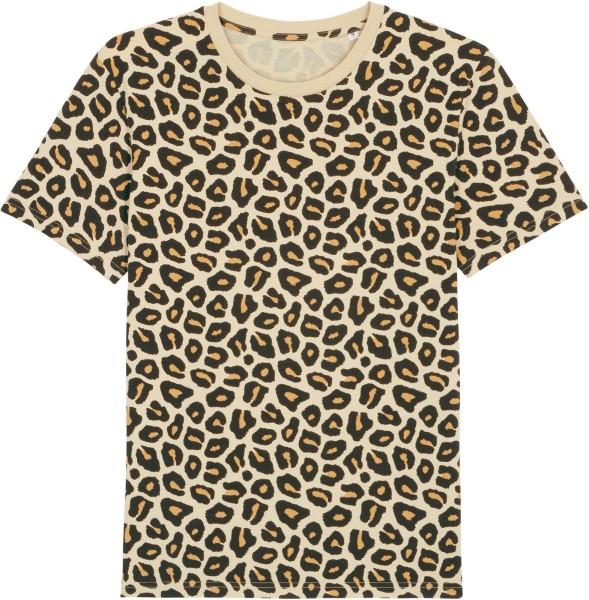 T-Shirt aus Bio-Baumwolle - leopard