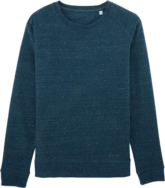 Sweatshirt aus Bio-Baumwolle - heather denim