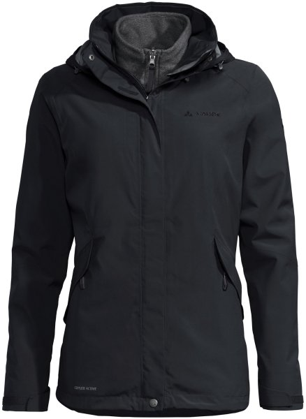 Damen Jacke Rosemoor 3in1 Jacket - black