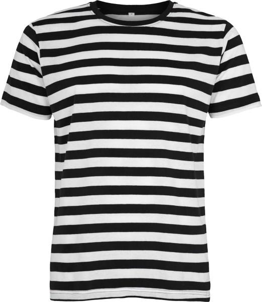 c6ec8abb248dbb Ringelshirt schwarz-weiss für Männer aus reiner Baumwolle ...