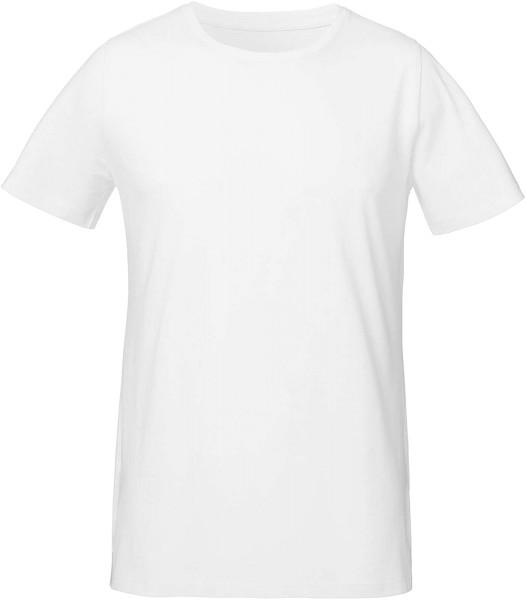 Live - Unisex T-Shirt mit Seitenschlitzen - weiss
