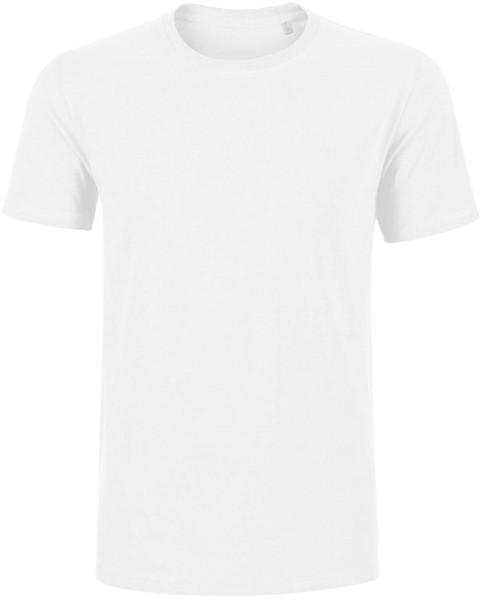 Hips - T-Shirt schwerer Stoff Bio-Baumwolle - weiss - Bild 1