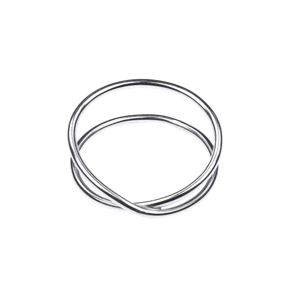 Eternity Ring aus recyceltem Silber