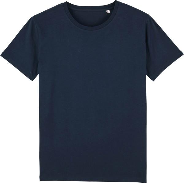 Leads - Kurzarmshirt aus Bio-Baumwolle - french navy