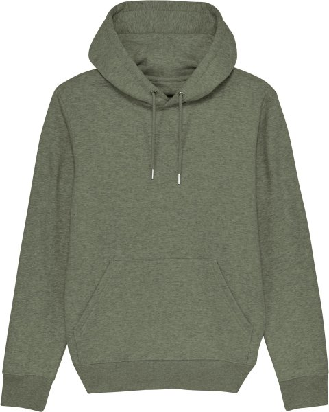 Unisex Hoodie aus Bio-Baumwolle - mid heather khaki