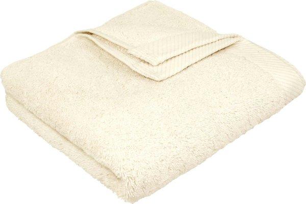 Flauschiges Handtuch aus Bio-Baumwolle - 50x100 natur