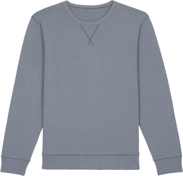 Vintage Sweatshirt aus Bio-Baumwolle - g. dyed lava grey