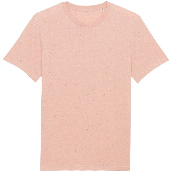 T-Shirt aus Bio-Baumwolle - heather neppy pink